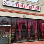 Summit Thai Cuisine - from parking lot