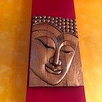 Summit Thai Cuisine - art on wall