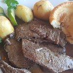 Roast beef Sunday meal