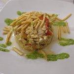 Revuelto Bacalao (cod in scrambled eggs)
