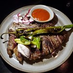 15 oz Bone-in Striploin ($77)