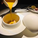 I love how the soup is presented