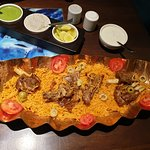 Mutton Kepsa rice