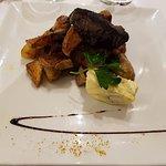 Pièce de bœuf, beurre au roquefort