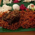 bamboo briyani chicken and look at that portion, it's too much for me :D, i'll have to share it with others