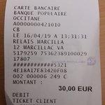 et le tout pour 30 euros..deux menus +café+un pichet de vin !!!!bravo et merci....