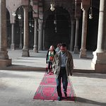 dentro la moschea di QALAOUN  dentro la cittadella al cairo