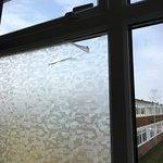 Peeling of the window sticker!!