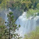 Imponująca wielkość  wodospadu