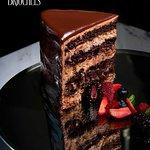 Seven Layer Chocolate Cake