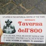 Fotografie: Taverna dell'800