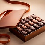 Fran's Mitsuame Lacquer Box with Salted Caramels