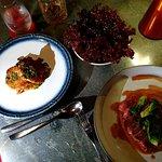 Cod, Steak + lettuce (Side dish)