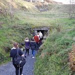 The entrance to the cave. The fields above it have some pet donkeys you can go meet later.