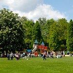 Spielplatz im Botanischen Garten Augsburg