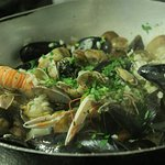 risotto with seafood