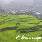 Maligcong Rice Terraces - best time to visit from April - June when the fields are planted and green in color