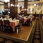 Main dining room. Maggiano's Little Italy, Austin, TX