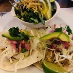 I was able to order the Sante Fe Salad and the Yacaten Chicken Tacos....sooo incredibly flavourf
