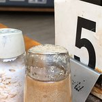 Table numbers & salt & pepper shakers need a good clean