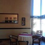 Lobby area of Amerstone Inn.