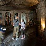 Ajanta Caves: Interior temple
