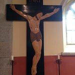 Work by Phyllis Yglesias, memorial cross.