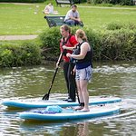 Stand Up Paddleboarding in Leamington