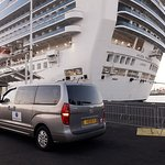 Pick up on the Golden Princess cruise