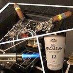 A good cigar is a complement to your drink.