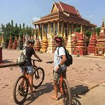 Get on a bike and go for a country ride discover the temples and people of Siem Reap