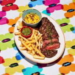 Our prime Argentinian Guacho sirloin. It would be a mis-steak not to order this! ;)