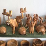 Large collection of meze , Olives, and cheese mini forks. Suitable also for snail lovers..
