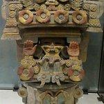 Ceramic Mayan urn.