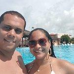 Amenizando o calor na piscina!