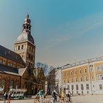 Exploring beautiful Riga.