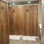Common bathroom cubicles
