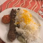 Iranian Kebab, the best way to eat meat... Yummy...