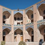 The Ganjali Khan Complex was built by Ganj Ali Khan who governed Kerman, Sistan and Kandahar provinces from 1596 to 1621 under Safavid Shah Abbas I. A number of inscriptions laid inside the complex indicate the exact date when these places have been built. The architect of the complex was Mohammad Soltani from Yazd