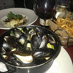 Moules frites. That's a lot of mussels!!