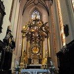 Inne i Jungfru Maria-kyrkan (Kosciol Mariacki) i Torun