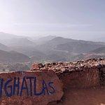 High Atlas mountains view