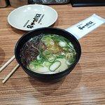 kushikatsu, ramen soup and doteyaki