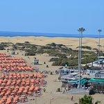 duinen vanuit Playa del Ingles