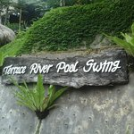 Terrace River Pool Swing at Alas Harum Bali, Tegallalang