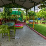 Relaxing Garden at the heart of city