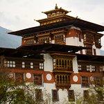 Dzong from the bridge