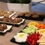 Healthy homemade snacks class