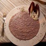 risotto barolo e gorgonzola