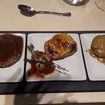 Three variations of Iberico filet
